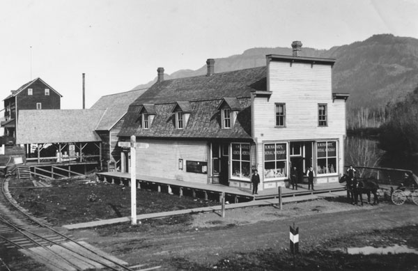 Harvey's General Store & Post Office, ca. 1902