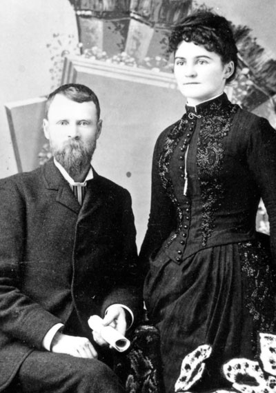 Robert and Lucy Lambly, 1879